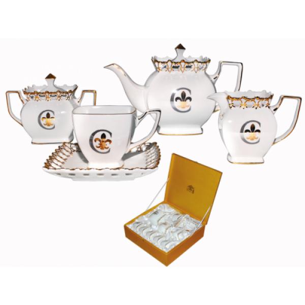 1775 Сервиз чайный 15пр.