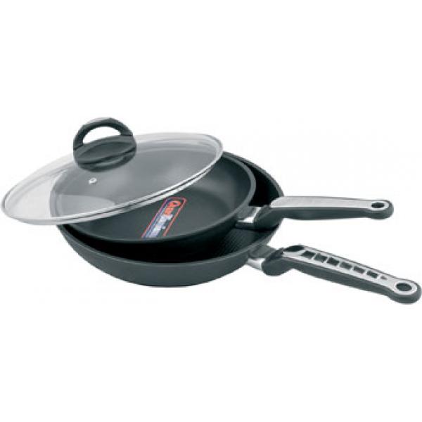 Сковорода Maestro 28 см титановое покрытие MR 1207-28