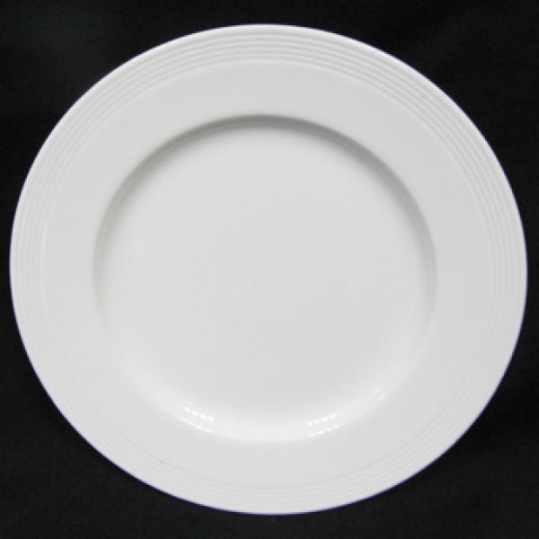 Тарелка Maestro 21 см. White Linen MR 10001-02