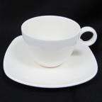 Чашка Чашка с блюдцем Maestro White Linen MR 10001-05/06