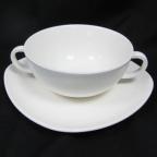 Бульонница  с блюдцем Maestro White Linen MR 10001-12/13