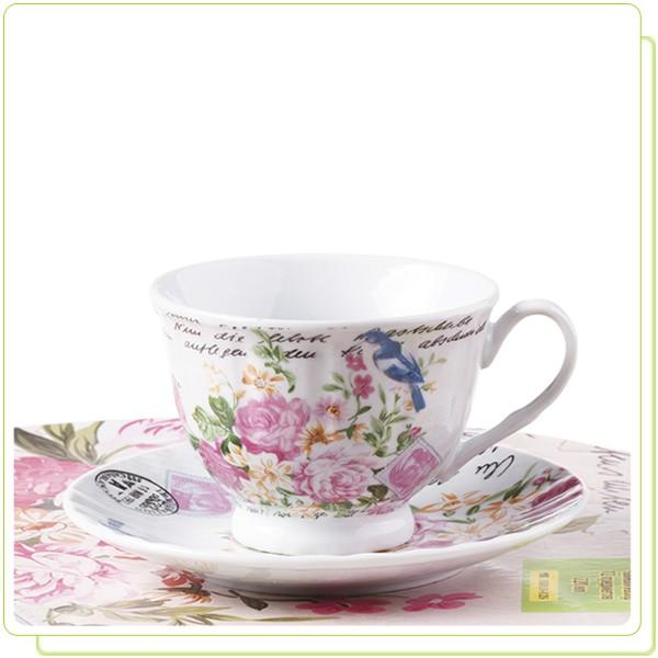 MR 10010-12S Чайный набор Maestro 12 пр. ( 6 цветочных расцветок)