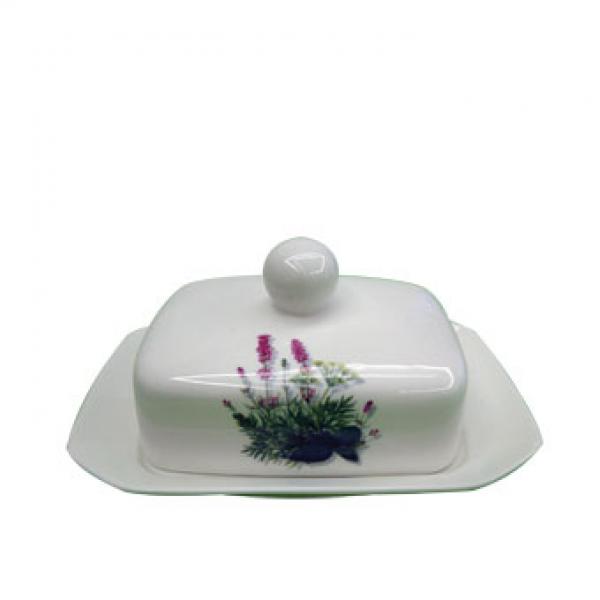 Маслёнка фарфоровая Maestro MR 10024-45