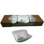 Набор фарфоровых мисок Maestro 3 шт MR 10024-50