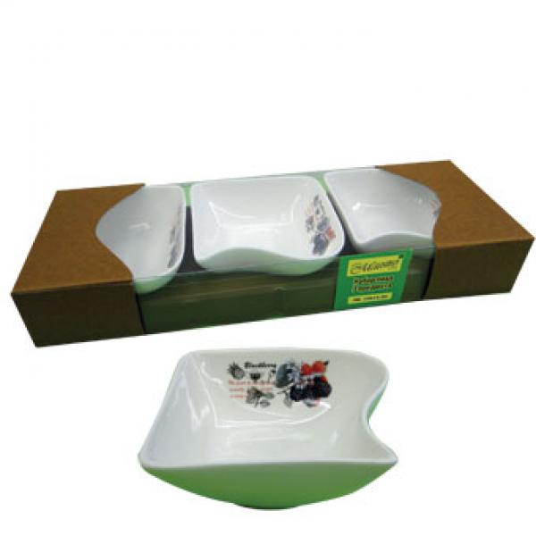 Набор фарфоровых мисок Maestro 3 шт MR 10025-50