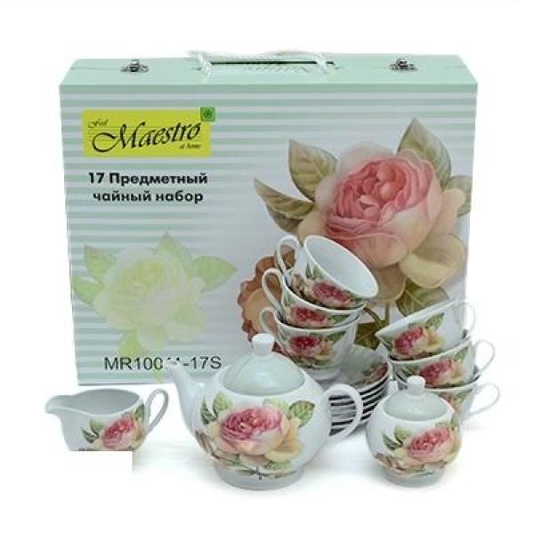 Чайный набор Maestro 15 пр. MR 10011-17S