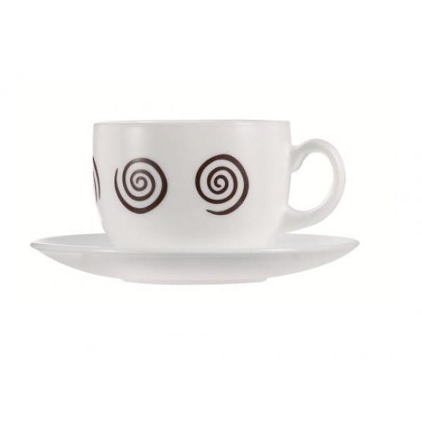 4126g Набор чайный 220 мл ( 12 пр.) Sirocco Brown