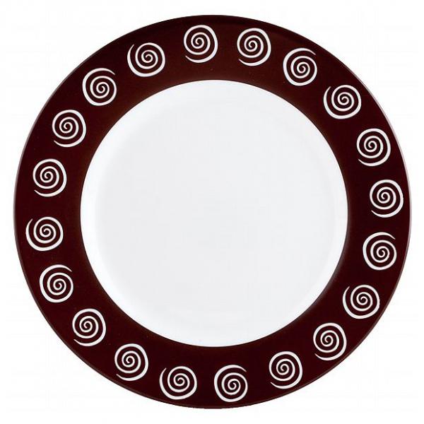4884h Тарелка десертная 19,5 см Sirocco Brown