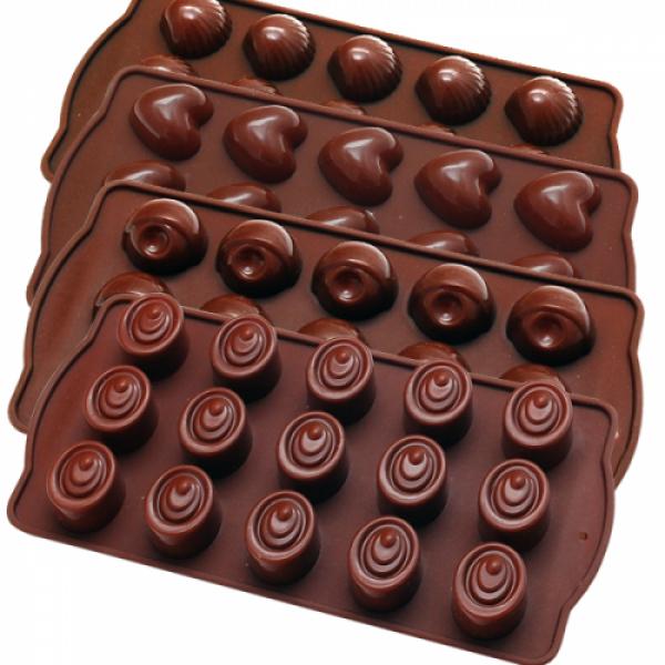 20055 Форма для шоколадных конфет 21*10,5 см.