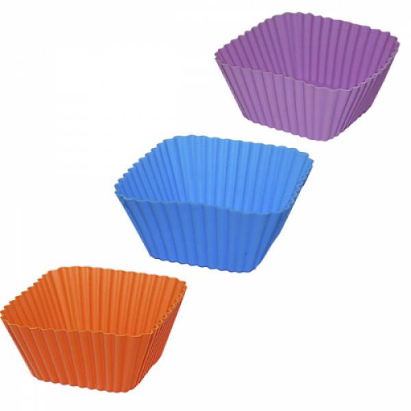 20091 Форма для выпечки квадрат 6*6*3 см.