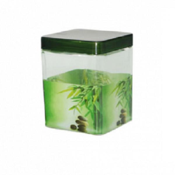 612 Емкость для сыпучих продуктов 650 мл Зеленый бамбук