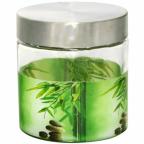 606 Емкость для сыпучих продуктов 750 мл Зеленый бамбук