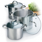 Набор посуды Maestro (8 л, 5 л и 4 л.) MR 2023