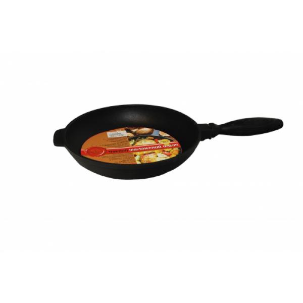 99010 Сковорода чугунная гриль 24 см.