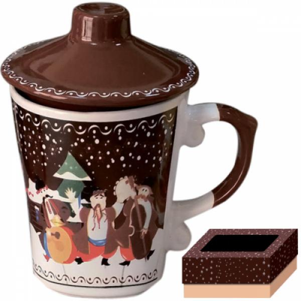 2142 Чашка заварочная 350 мл Рождественская ночь
