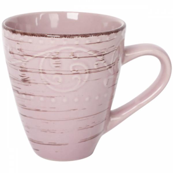 6111 Чашка 400 мл Античная розовая