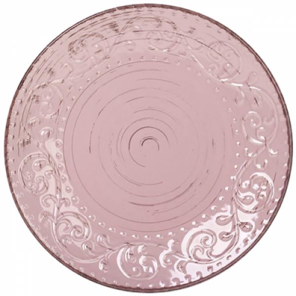 5110-1 Тарелка 26 см Античная розовая