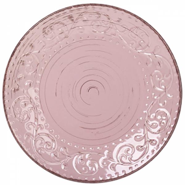 5110-2 Тарелка 20 см Античная розовая