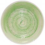 5114-2 Тарелка 19 см Пастель зеленая