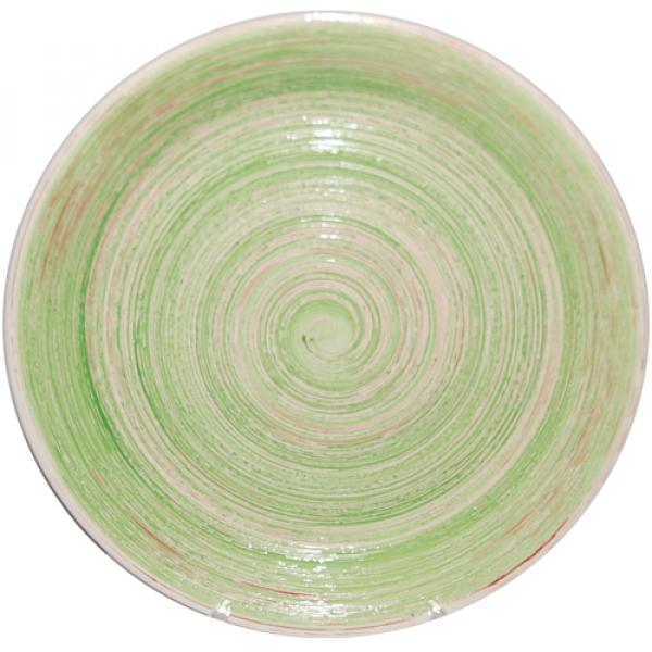 5114-1 Тарелка 26 см Пастель зеленая