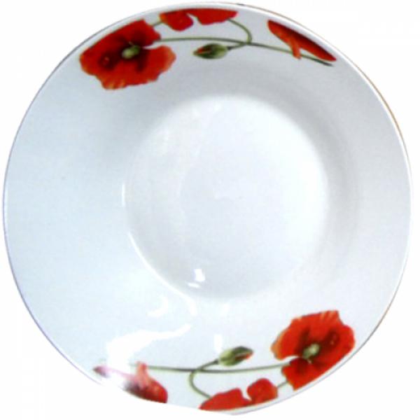 3082-905 Тарелка суповая 20 см. Полевой мак