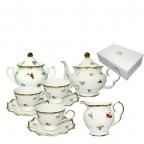 Сервиз чайный S&T 15 пр.(200 мл) Шантильи (022-15-04)