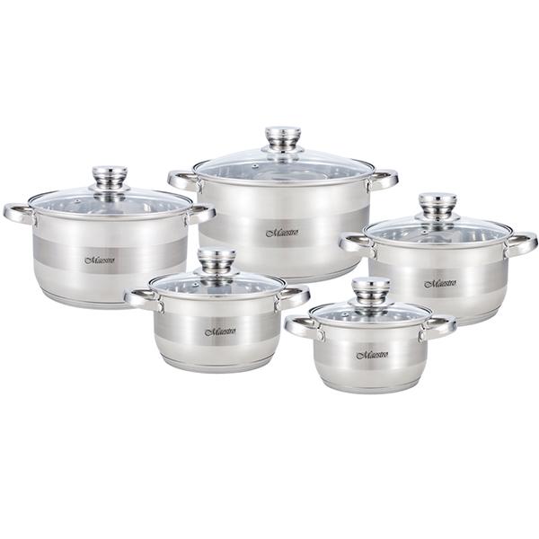 Набор посуды Maestro 10 пр. MR 2220-10